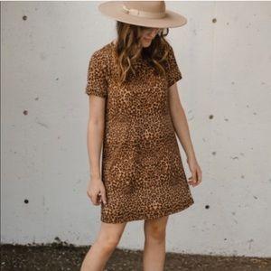 Jackson Rowe Crow Animal Print Dress xs